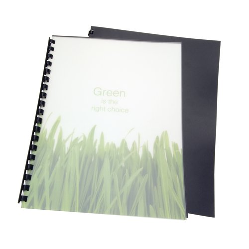 GBC® Eco-Series™ 100% Recycled Poly Presentation Covers