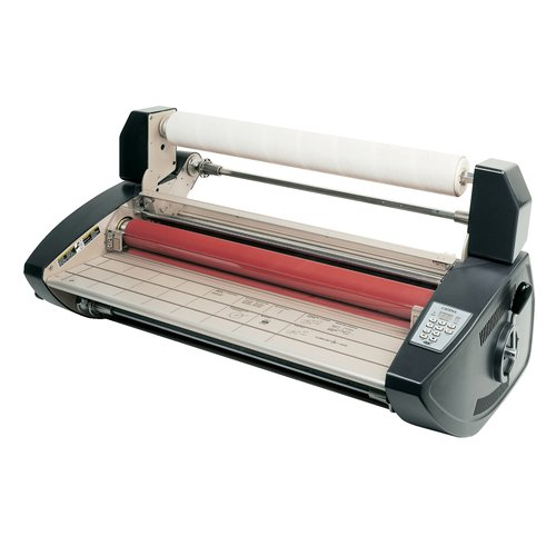 "GBC® Catena 65 Thermal and Pressure Sensitive Roll Laminator, 25"" Max. Width, Speed 1.5 - 5 fpm"