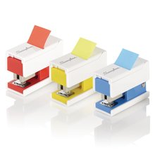 Swingline Mini Stapler with Flags, 12 Sheets, 20 Flags, Assorted Colors