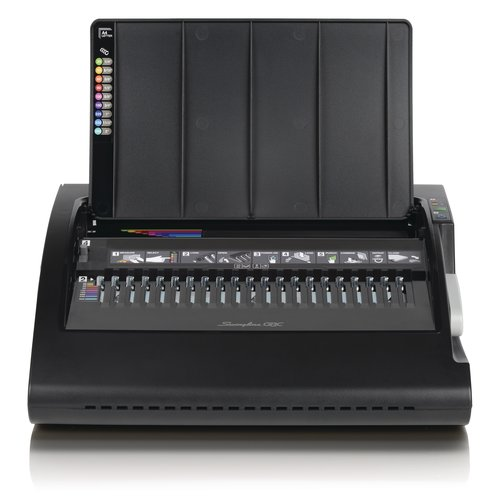 Swingline® GBC® CombBind® C210E Electric Binding Machine, Binds 330 Sheets, Punches 20 Sheets