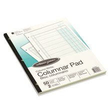 "Wilson Jones® Column Write® Pads, 8 1/2"" x 11"", 41 Lines, 2 Columns, 50 Sheets"