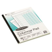 "Wilson Jones® Column Write® Pads, 8 1/2"" x 11"", 41 Lines, 4 Columns, 50 Sheets"
