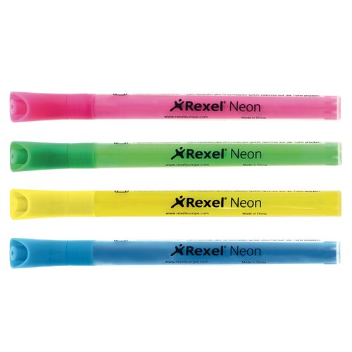 Neon Dry-Erase Markers Assorted (4)