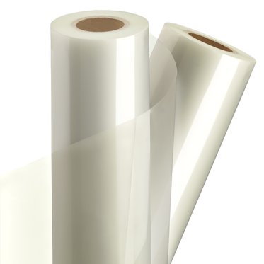 "GBC Octiva Lo-Melt Canvas Laminating Roll Film, 38"" x 250', 8 mil, 3"" Core"