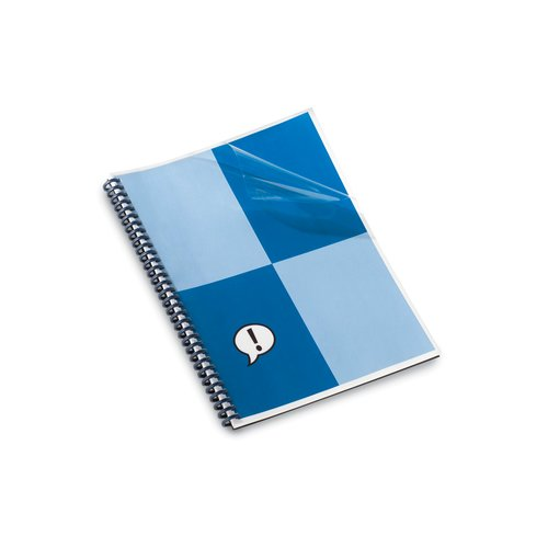 "Clear View® Presentation Covers, 10 Mil, 100pcs, 11"" x 8 ½""  , square corners, VeloBind®"