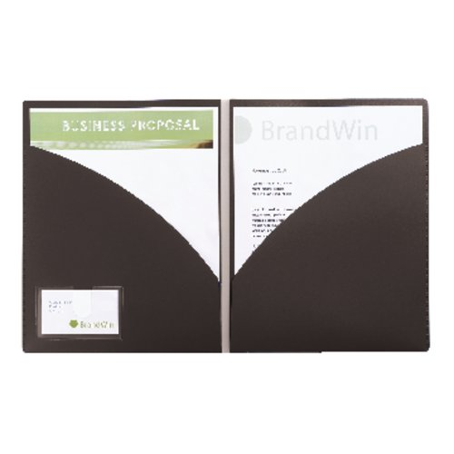 GBC® Executive Portfolio, Letter Size, 50 Sheets, Black