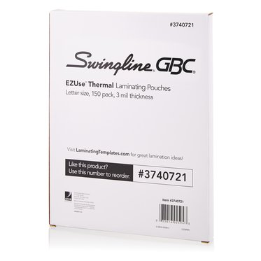 Swingline GBC® EZUse™ Thermal Laminating Pouches