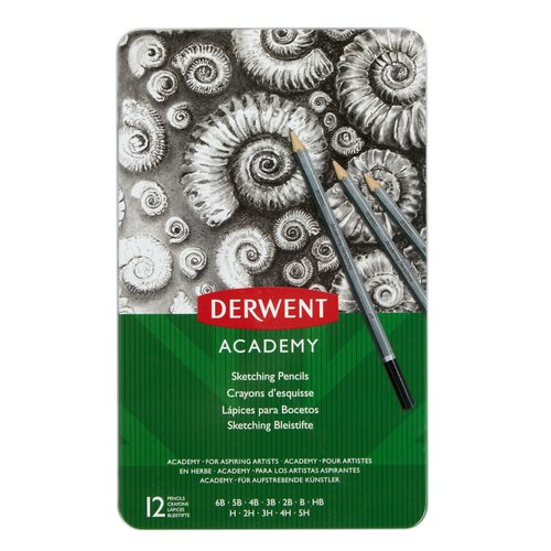 Academy Sketching 12 Tin