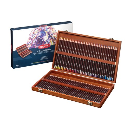 Coloursoft Pencils 72 Wooden Box