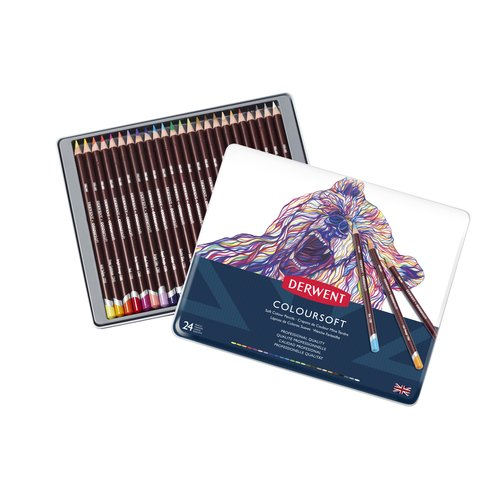 Coloursoft Pencils 24 Tin