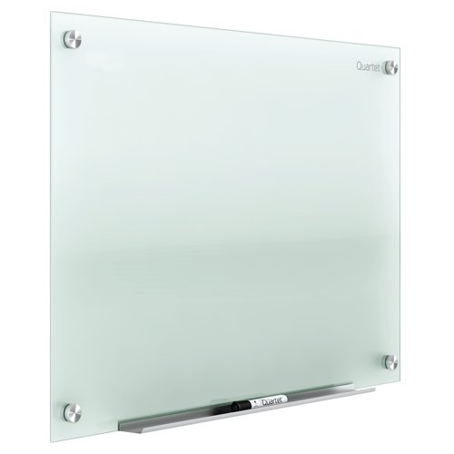 Quartet Infinity™ Glass Dry-Erase Boards, Frosted Surface