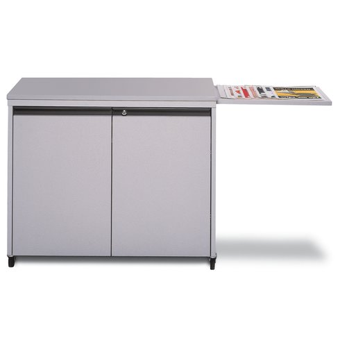 Locking Laminator-Supply Cabinet