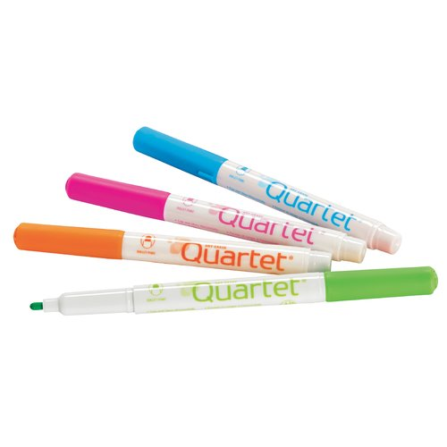 Quartet® Low Odor Markers with DryGuard Ink Protection, Bullet Tip