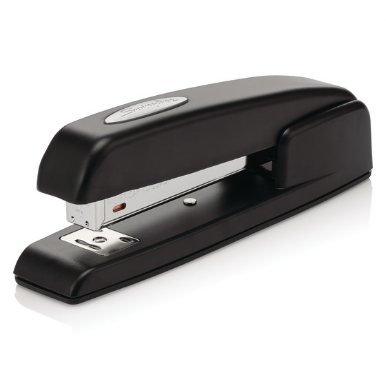 Swingline 747 Business Stapler, Antimicrobial, 25 Sheets, Black