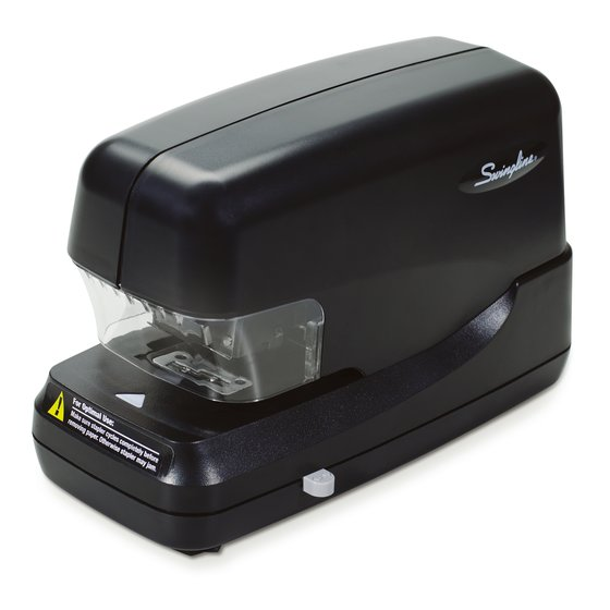 Swingline High Capacity Electric Stapler, 70 Sheets, Black