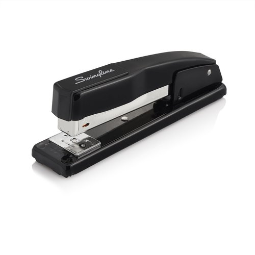 Swingline® Commercial Desk Stapler, 20 Sheets, Black