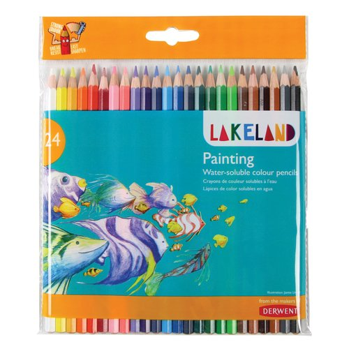 Lakeland Painting Pencils 24 Wallet