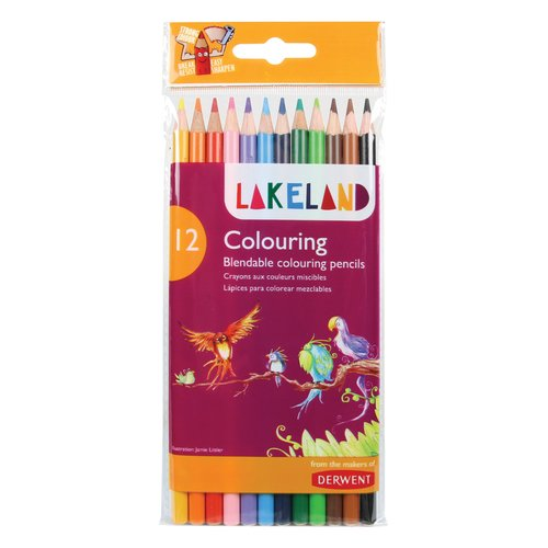 Lakeland Colouring Pencils 12 Wallet