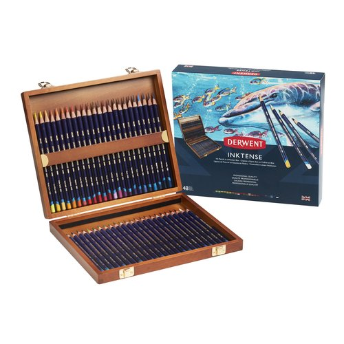 Inktense 48 Wooden Box