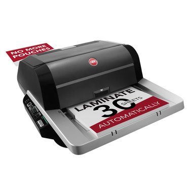 GBC Foton 30 Automated Pouch-Free Laminator, Starter Film Cartridge Included