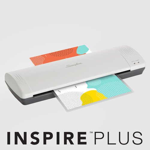 "Swingline® Inspire™ Plus Thermal Pouch Laminator, 12 1/2"" Max Width, 5 Minute Warm-up, 3-5 Mil"