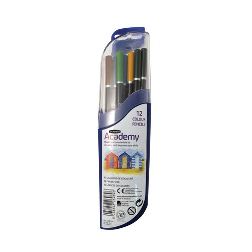 Derwent Academy Colouring Pod of 12