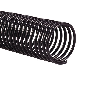 Color Coil™ Binding Spine, Black, 33mm, 265 sheet capacity, 4:1 pitch, 100 pcs