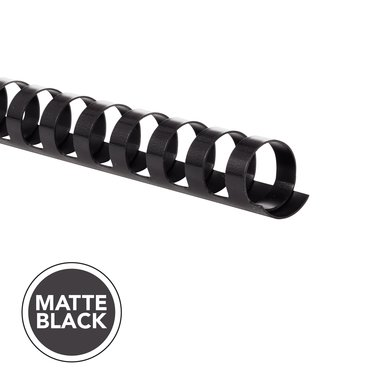 MATTE COMB 3/4IN BLACK 100PK