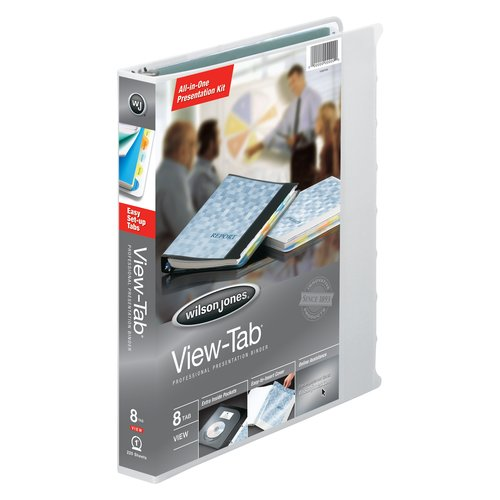 Wilson Jones® View-Tab® Presentation Binders, 1""