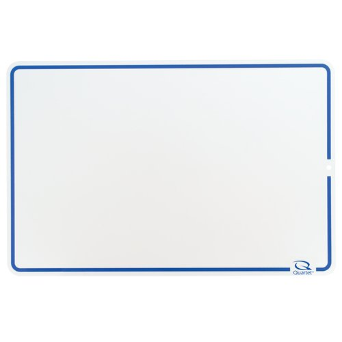 "Quartet® Education Lap Board, 12"" x 18"", Dry-Erase Surface, Marker Included"