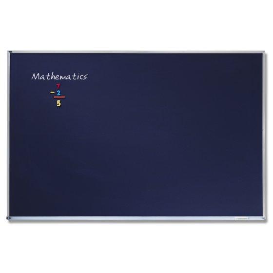 Quartet Porcelain Black Chalkboard, Magnetic, 4' x 6', Aluminum Frame