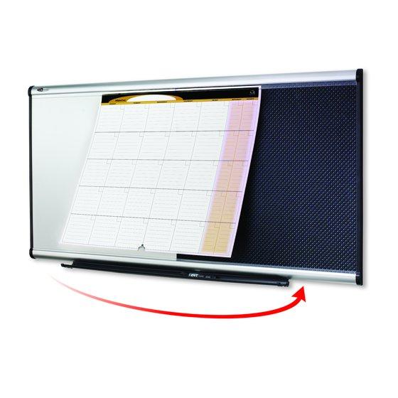 Quartet® Prestige® 3-in-1 Combination Boards, Aluminum Frame