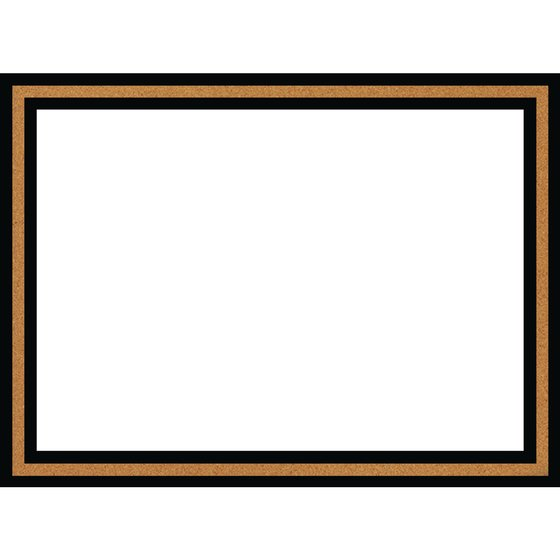 Magnetic Dry Erase Board Cork Frame 580x430mm