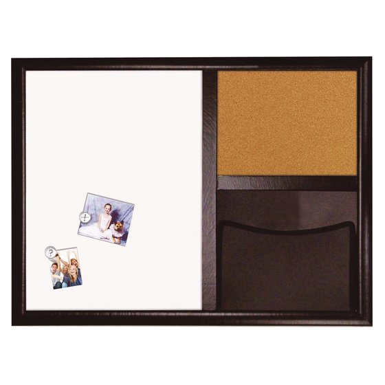Envision Dry Erase, Cork & Pocket Combo 580x430mm