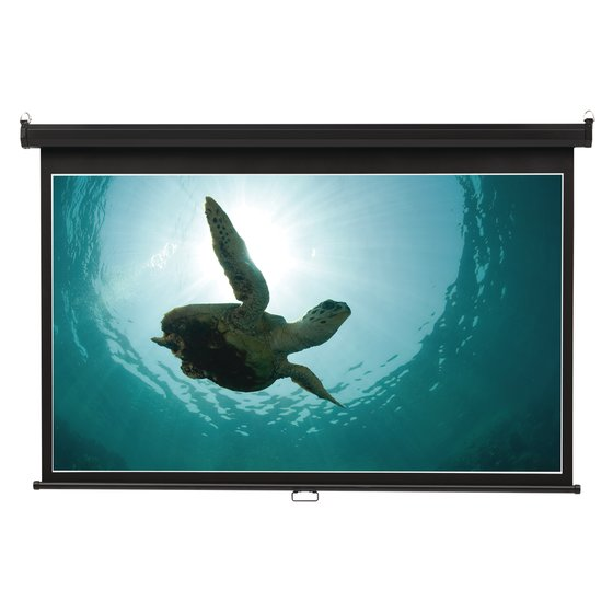 Quartet® Wide Format Projection Screens, Wall Mount