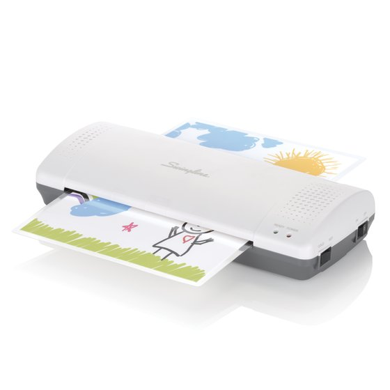"Swingline® Inspire™ Plus Thermal Pouch Laminator, 9"" Max Width, 4 Minute Warm-up, 3 - 5 Mil"