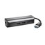 Kensington UA3000E USB 3.0 Ethernet Adapter & 3-Port Hub for Windows and Mac