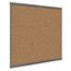 Prestige 2 Magnetic Cork Bulletin Board, 8' x 4', Graphite Finish Aluminum Frame