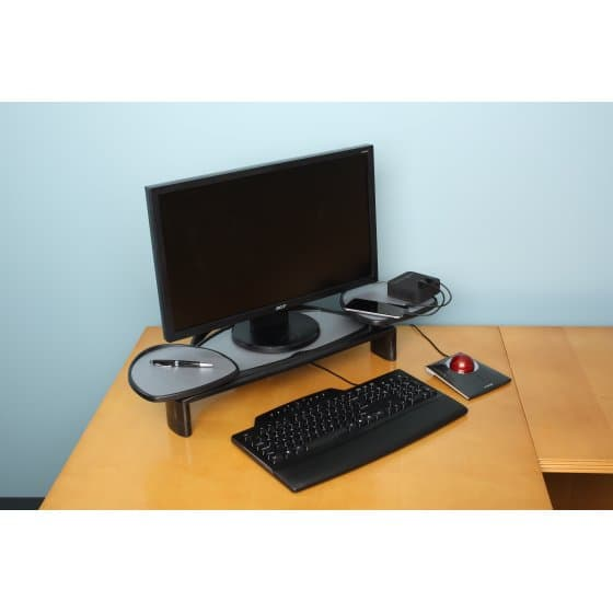 Kensington® Flat Panel Monitor Stand with SmartFit® System