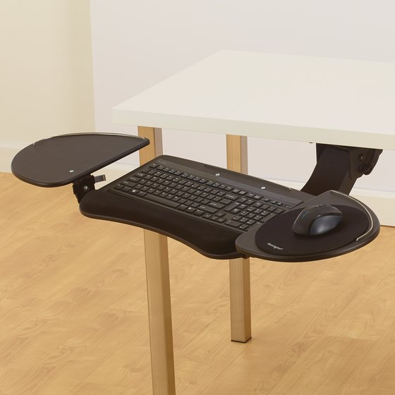 Kensington® Fully Adjustable and Articulating Keyboard Platform with SmartFit® System