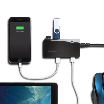 7 USB 3.0 Charge and Sync Ports