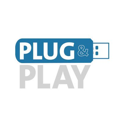Plug & Play USB Connection.