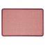 Contour Fabric Bulletin Board, 3' x 2', Burgundy Frame, Mauve Fabric