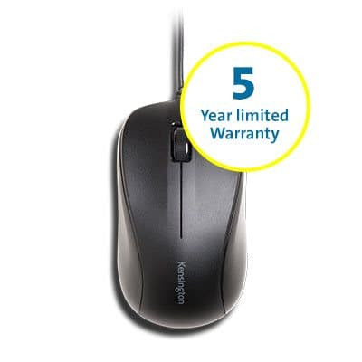 wired mouse 5 year warranty