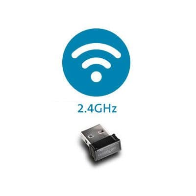 Connessione wireless a 2,4 GHz