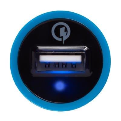 Indicador LED de luz azul