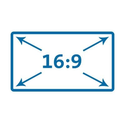 16:9 Widescreen Aspect Ratio
