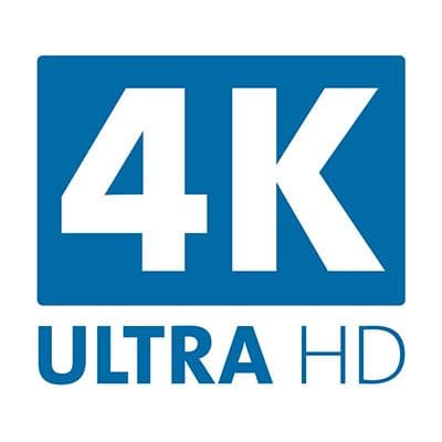 Enables 4K Resolution