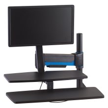Workstation con supporto/seduta SmartFit®