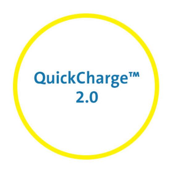 QuickCharge™ 2.0